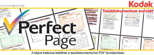Perfect Page teszt